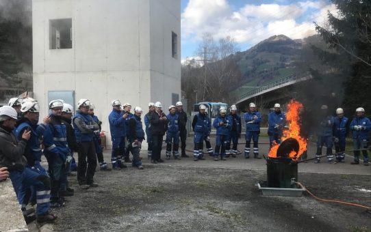 Sicherheitsparcours (SiPa) 2019 zum Thema Brandschutz