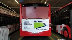 TECTON AG Chur Buswerbung