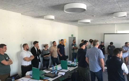 Einführungstag technisches Kader 2019