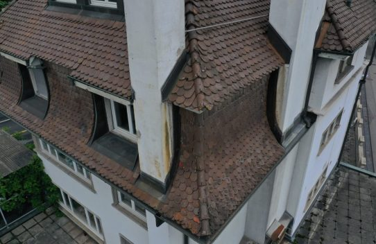 s'Drooni über Fribourg