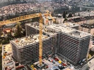 Baustelle Schönburg, Bern