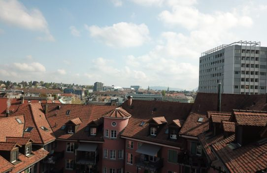 s'Drooni über Bern