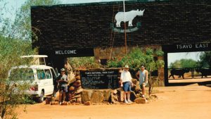 TECTON-Reise 1994 Kenia