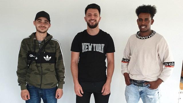 Bobi Illir, Robel Kahsay, Aid Sabani