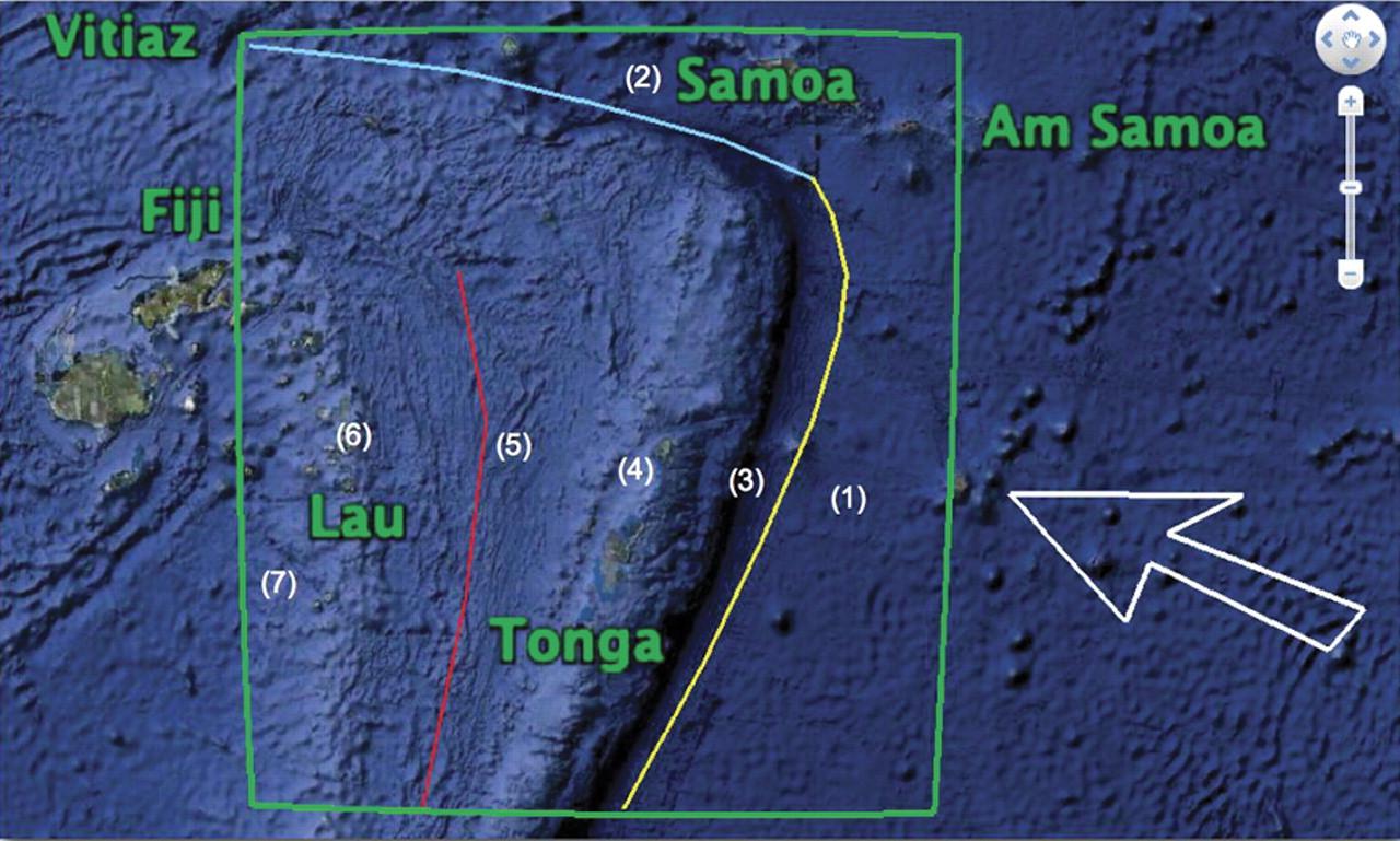 Tonga Trench Wikipedia Induced Info