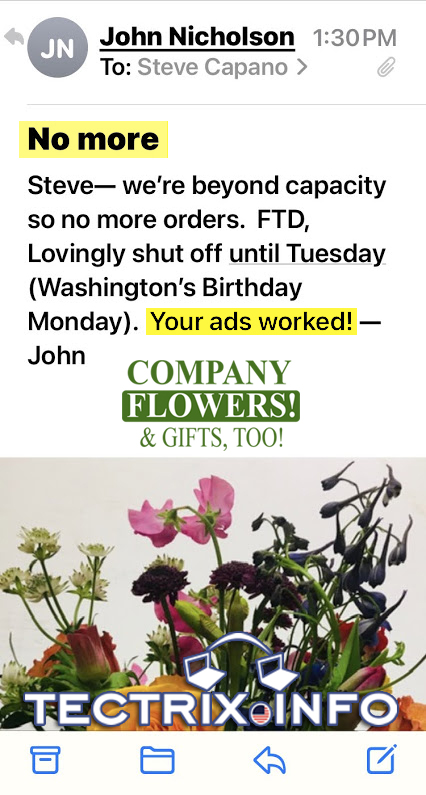 Company-Flowers-says-ads-worked-TECTRIX
