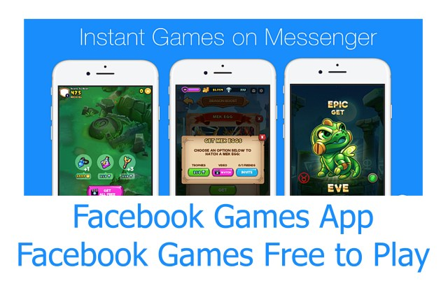 Facebook Games App - Facebook Games Free to Play