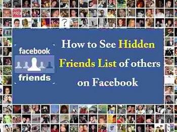 EASIEST WAY) FACEBOOK FRIEND MAPPER - HOW TO VIEW HIDDEN FACEBOOK FRIENDS LIST | SOCIAL REVEALER | FACEBOOK FRIEND MAPPER