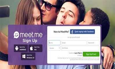 MeetMe Sign-Up MeetMe Sign Up