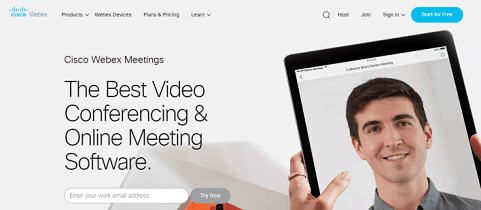webex online video conference