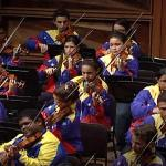 Gustavo Dudamel and the Teresa Carreño Youth Orchestra: El Sistema's top youth orchestra