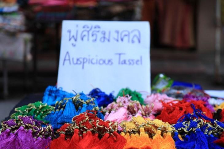 LGV165 2015-02-19 thailand chiang mai chinatown lunar new year auspicious tassel copy