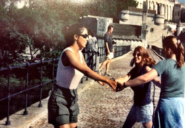 tina dancing pont d'avignon 1995