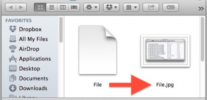 Know Your Files — Show Your File Extensions on Mac OS X