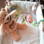 Kuscheltier Teddy mit Namen