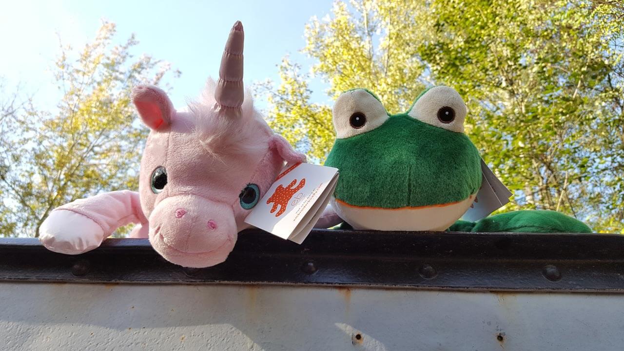 Einhorn und Frosch
