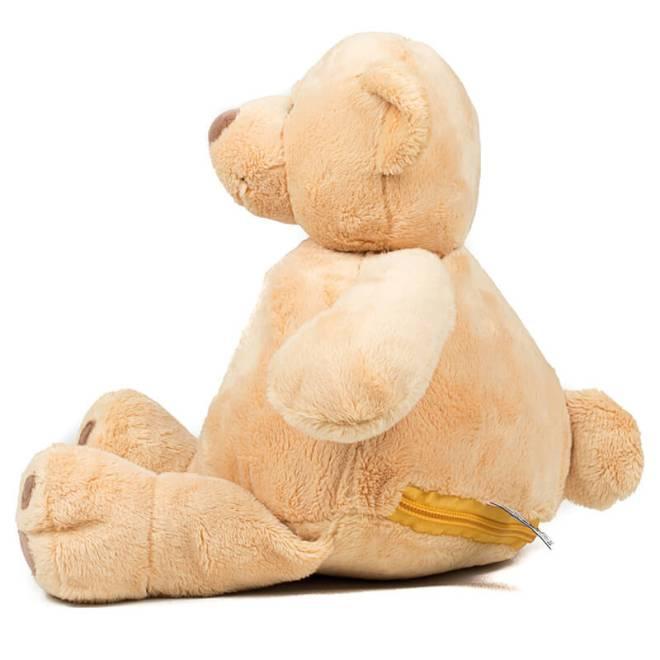 Teddy zippie bear Seitenansicht