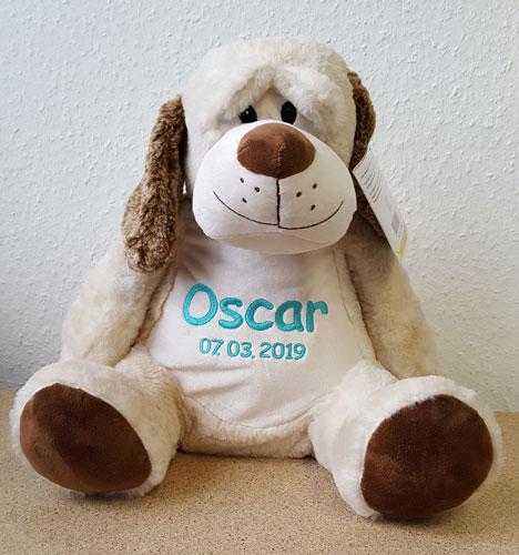 Embroidery Buddy Classic Hund Dalton mit Namen