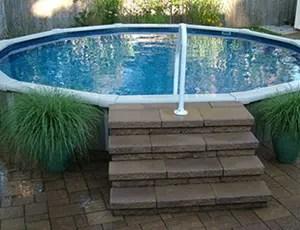 Semi Inground Pools Teddy Bear Pools And Spas