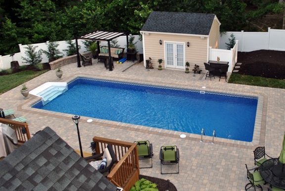 Small Rec Patio Pool
