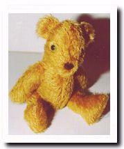 Bonjour Teddy bear