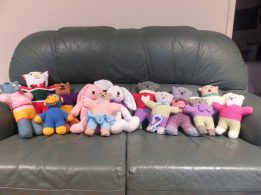 more teddies from Judy and Iris, Carindale