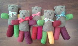 more teddies from Sue and Rebecca, St Lucia