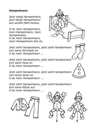 Text zum Lied: Hampelmann