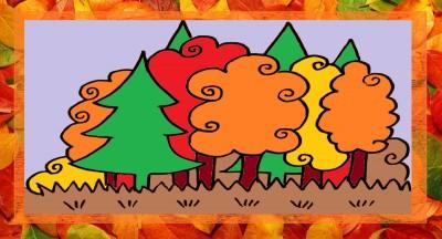 Bildkarten Herbst