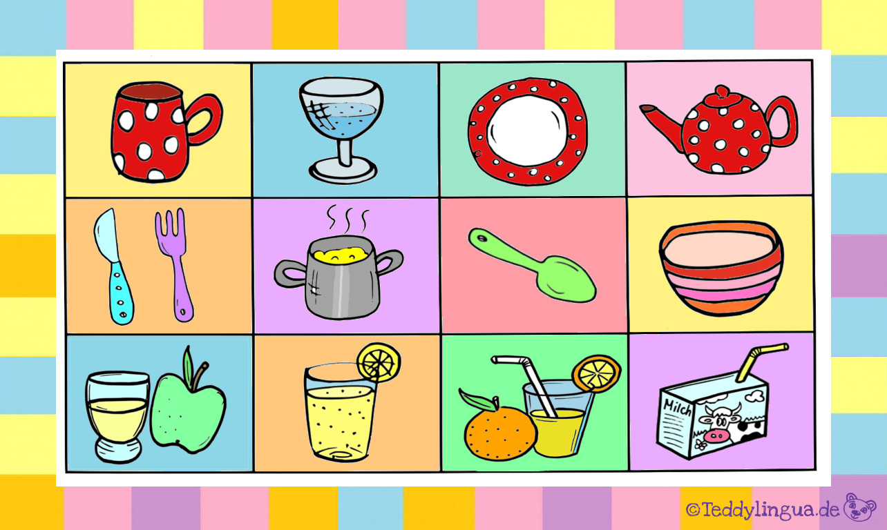 Essen und Trinken | Teddylingua