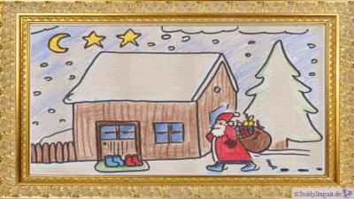 Nachts kommt der Nikolaus.