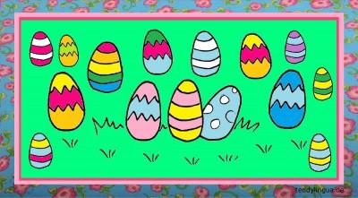 Bildkarten Frühling und Ostern