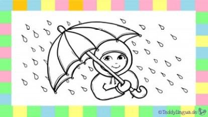 das Regenwetter