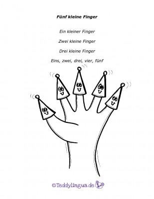 Fünf kleine Finger