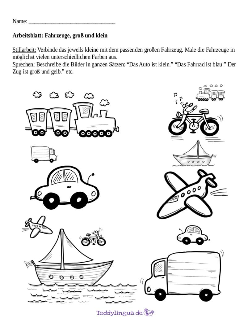 Fahrzeuge | Teddylingua