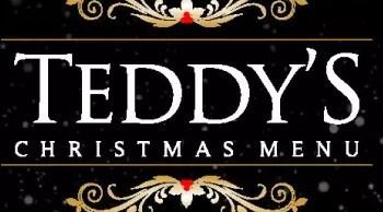 Teddys Christmas Menu
