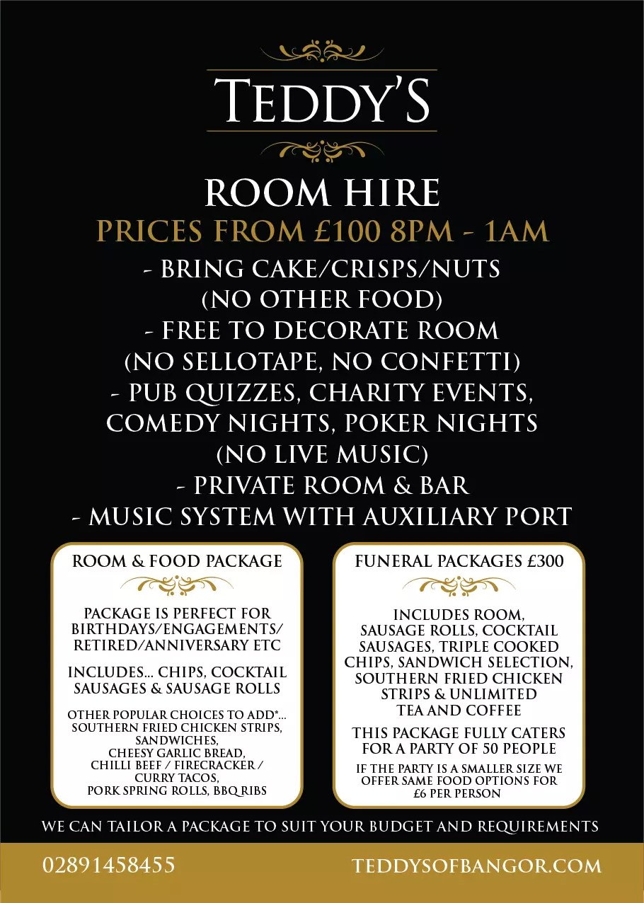 Teddys Room Hire