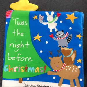 Book Panel - Twas the night before Christmas