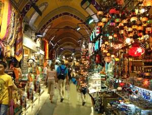 Fedett bazár, Isztambul (Forrás: welcometravel.com.tn)