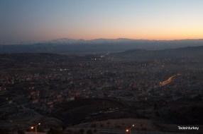 Elazığ látképe a Harputi hegyről