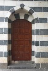 Az emlékház a 16. szd.-ban épült, tipikus motívummal ellátott bejárat