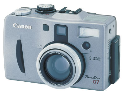 Canon PowerShot G1 Review