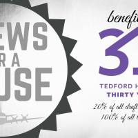 Brews for a Cause to Benefit Tedford Housing on 5/23/18