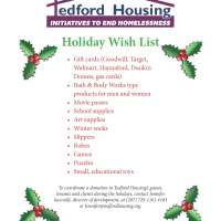 How to Help Tedford Housing Over the Holiday Season
