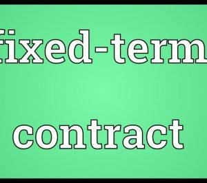 fixedtermcontract
