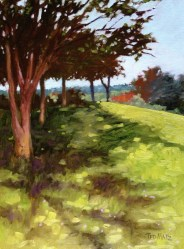 1. Just a beautiful day (Plein Air/Oil) $900