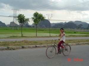 An inland version of the famed Halong Bay-style rock formations. One of Vietnam't national parks