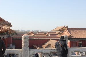 Forbidden City and city