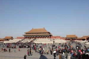 Forbidden City gate