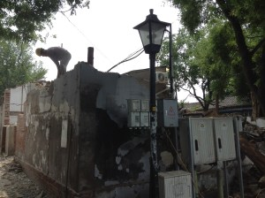 The GuLou neighborhood renewal carries on